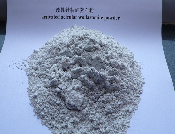 activated acicular wollastonite powder